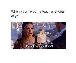 funny, teacher, and different image