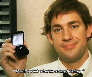 the office and jim halpert image