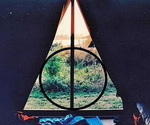 harry potter, tent, and nature image