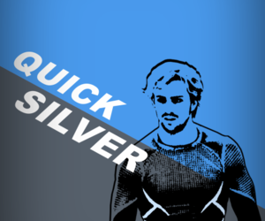 quicksilver, aaron taylor johnson, and the avengers image