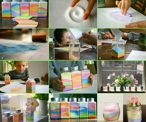 colors, diy, and salt image