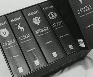 book, livro, and game of thrones image