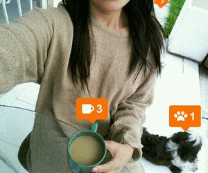 coffe, day, and dog image