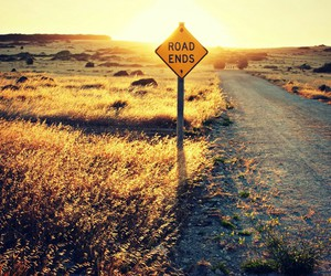 road, end, and nature image