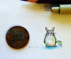 art, little, and totoro image