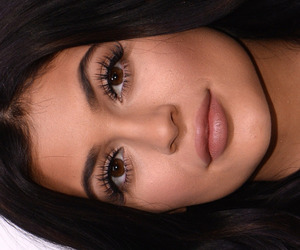 eyes, kylie jenner, and hair image