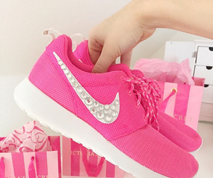 nike, shopping, and sneakers image