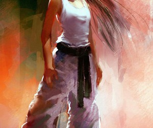 arte, taekwondo, and strong woman image