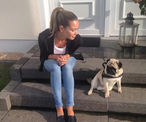 dog, beauty, and style image
