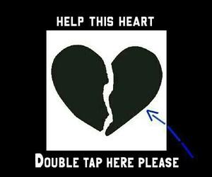 heart, help, and broken image