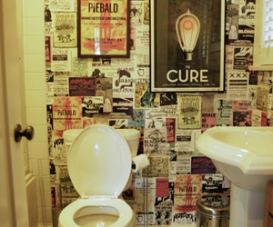 bathroom, hayley williams, and popular tv image