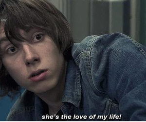 skins, love, and quote image