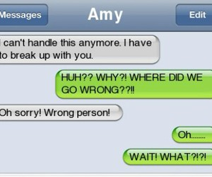 couple, funny, and message image