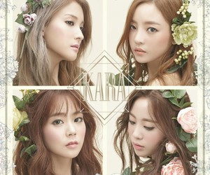 kara, roommate, and youngji image