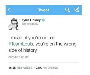 tyler oakley and louis tomlinson image