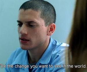 prison break and quote image