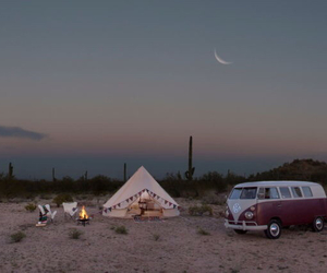 bohemian, desert, and fire image
