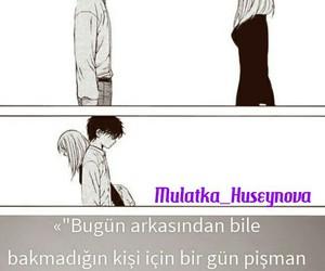 boy and girl, words, and sözler image