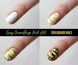 nail art, nails, and diy image