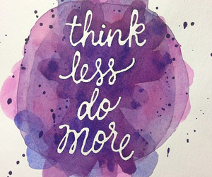 quotes, think, and purple image