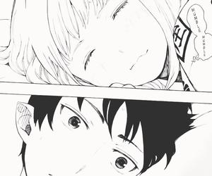anime, ao no exorcist, and manga image