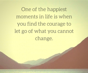 happiness, let go, and quotes image