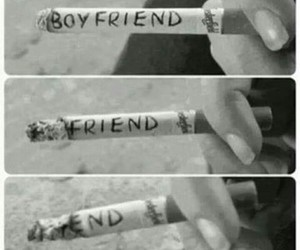 smoke, boyfriend, and end image