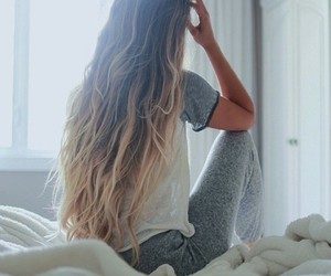 hair, nice, and ombre image