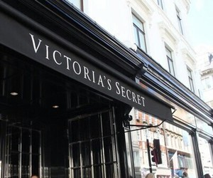 Victoria's Secret, black, and store image