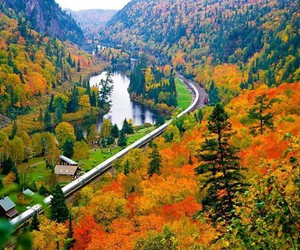 nature, beautiful, and canada image