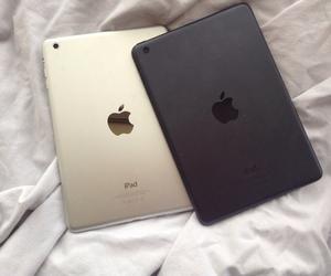apple, black, and tumblr image