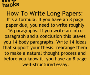 essay, Paper, and life hack image