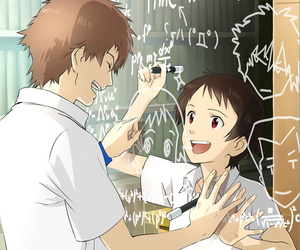 couple, anime, and the girl who leapt through time image