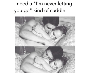 cuddle, cute couple, and never let me go image