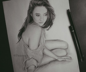 art, shay mitchell, and disegni image