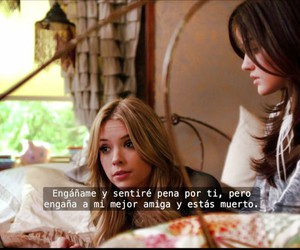 frases, troian bellisario, and emily fields image