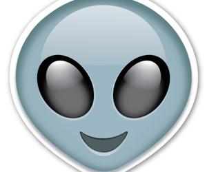 alien, emoji, and flowers image