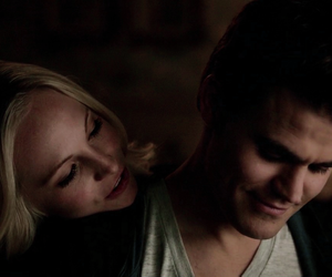 steroline and the vampire diaries image