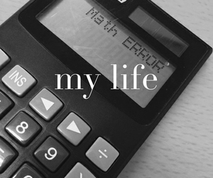 math, error, and life image