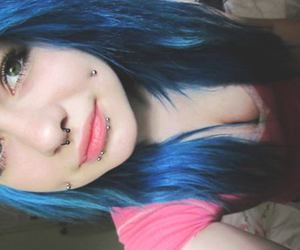 alternative, dyed hair, and cute image