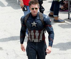 chris evans, captain america, and civil war image