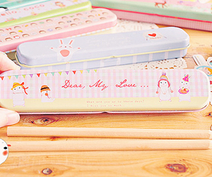 pencil case and stationery image