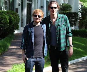 ed sheeran and hozier image