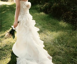 beautiful, fashion, and bridal image