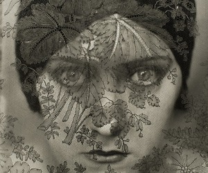 vintage, gloria swanson, and lace image