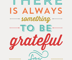 quote and grateful image