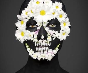 daisy, catrina, and skull image