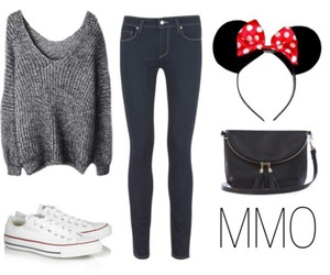 disneyland, mickey mouse, and outfit image