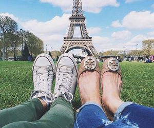 lovely, paris, and travel image