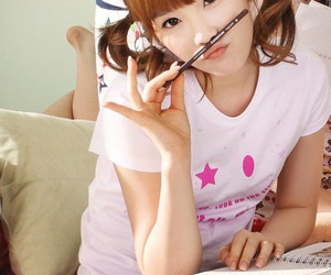 asian, taeyeon, and cute image